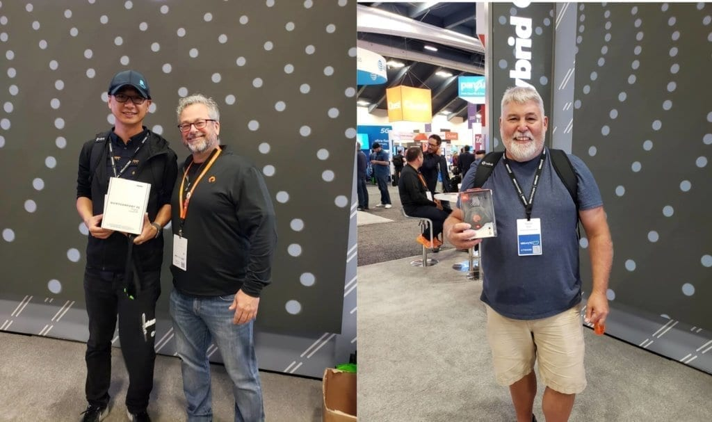 vmworld booth prize winners